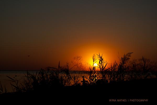 Sonnenuntergan, Reisefotografie Iryna Mathes