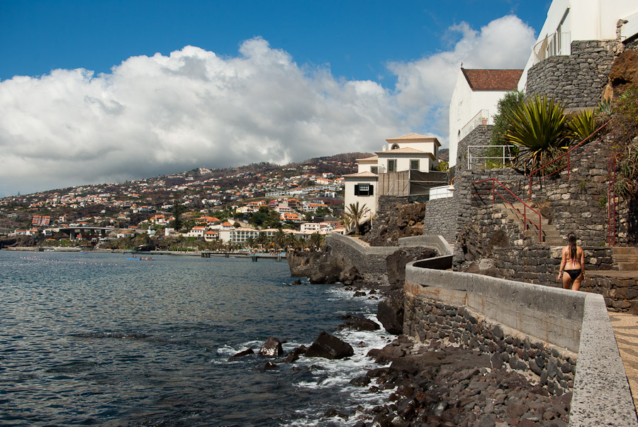 Küste bei Santa Cruz