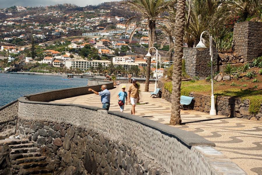 Küste bei Santa Cruz. Madeira