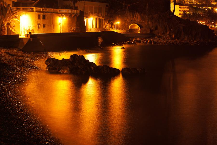 Madeira am Nacht