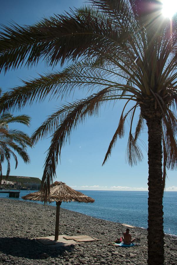 Madeira ist Urlaubsort mit steinigen Stränden