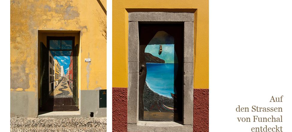 So wurde alte Stadt schöner: berühmte Künstler haben alte Türen bemalt