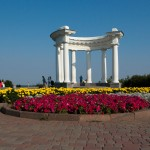 Poltava, one of its attractions: The Rotonda