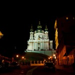 and at the end a picture of Andreevskaya church in Kiev at night