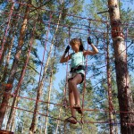 There was also a climbing park not far away from Sviatohirsk monastery