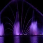 Singing and dancing fountains