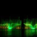 water show. It starts..