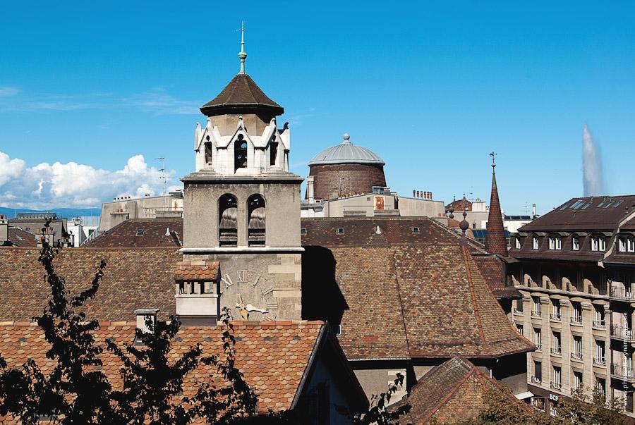 Genf, Dächer