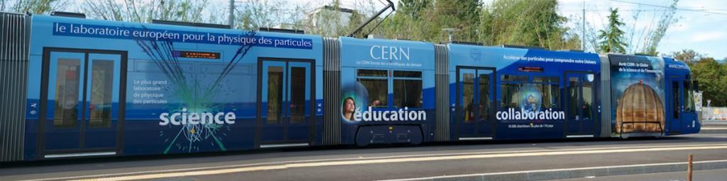 Straba nach CERN