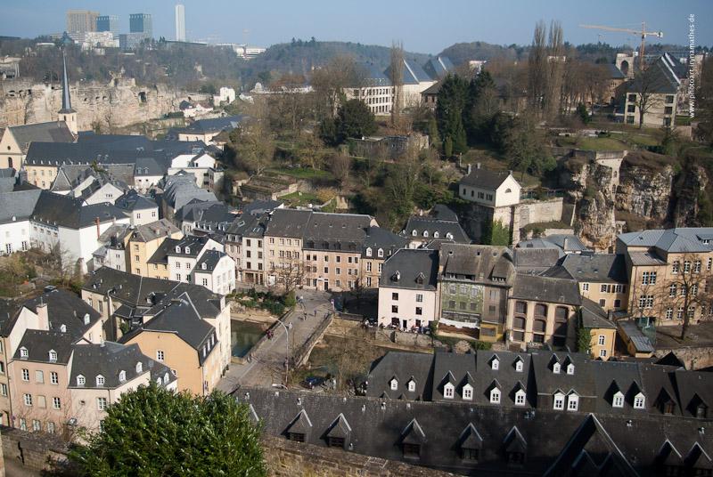 Altstadt Luxemburg // Город у подножия крепости