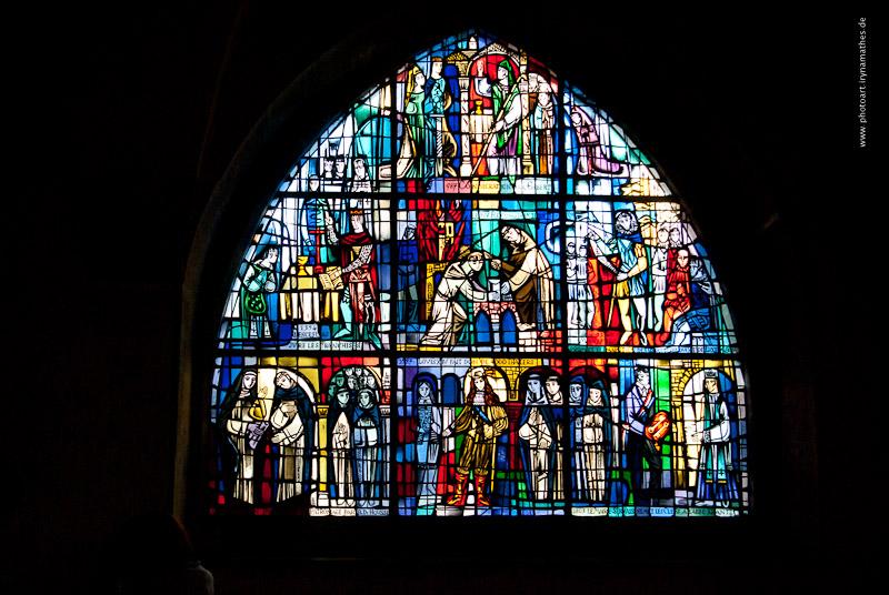 Malerische Glassfenster //  Витражи ну очень красивые
