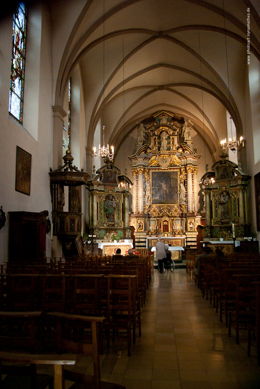 Kirche in Luxemburg //  В соборе