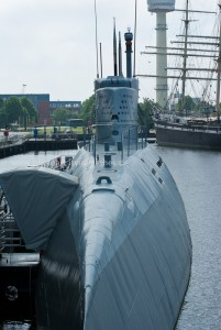 U-Boot in Bremerhaven
