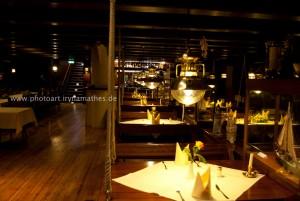 Schiffrestaurant, im Bremerhaven, Foto Iryna Mathes