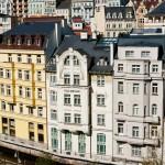 Karlsbad, wunderschöne Fasaden.