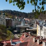 Spring Geyser in Karlovy Vary
