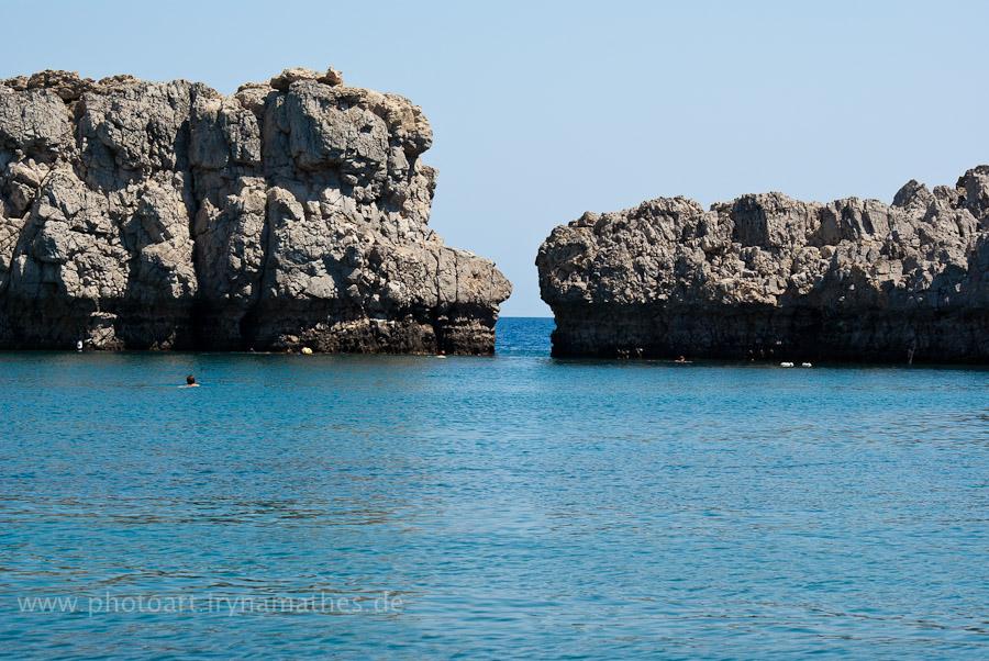 St.Paulus Bucht bei Lindos, Rhodos
