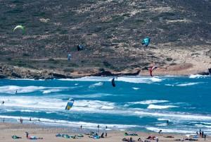 Surferparadies: Prassonissi, Rhodos