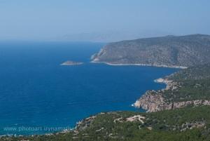 Landschaft bei Monolithos, Rhodos