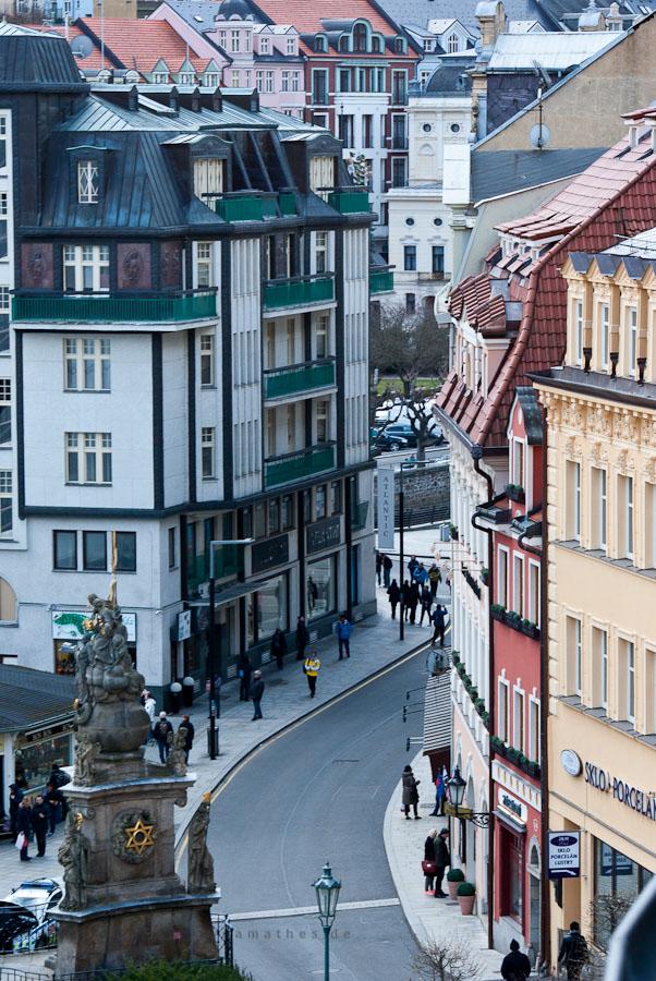 Auf den Strassen von Karlovy Vary