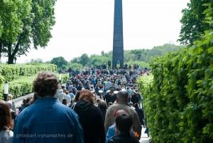 Aud dem Weg zum Denkmal
