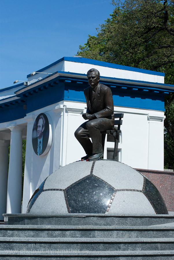 Lobanovsky, der Fussballheld der Ukrainer