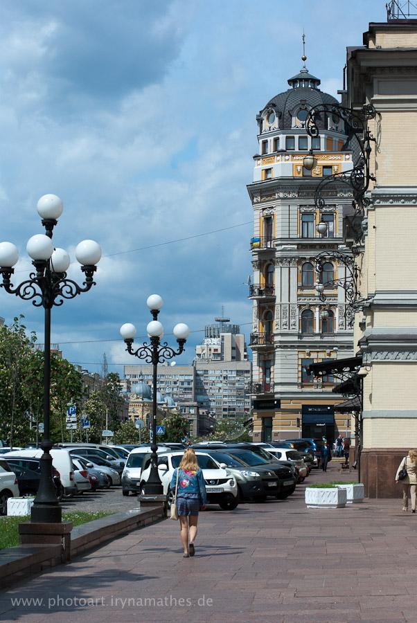 Im Zentrum vom Kiew