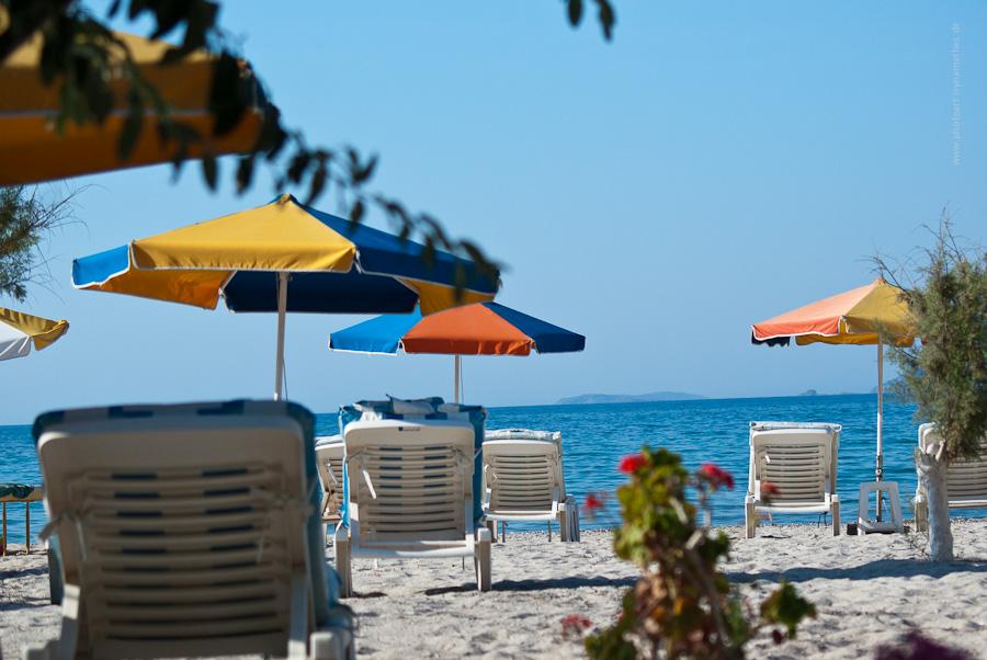 Strand von Tigaki, Kos