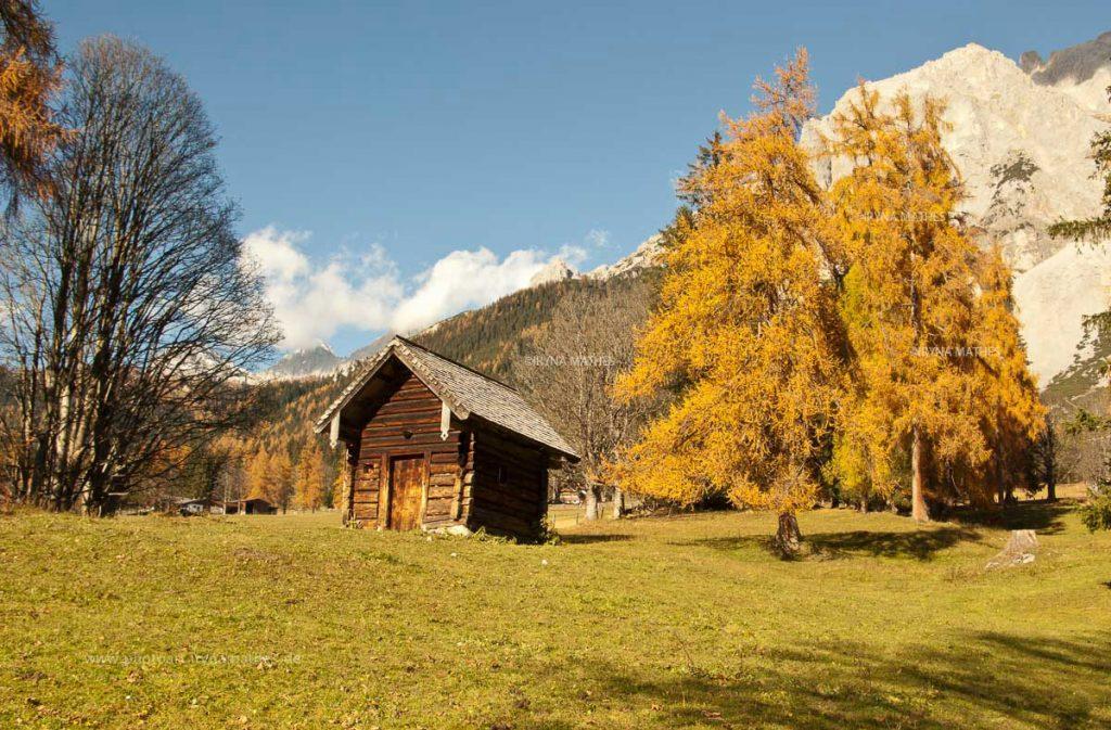 Schladming im Herbst, Landschaft