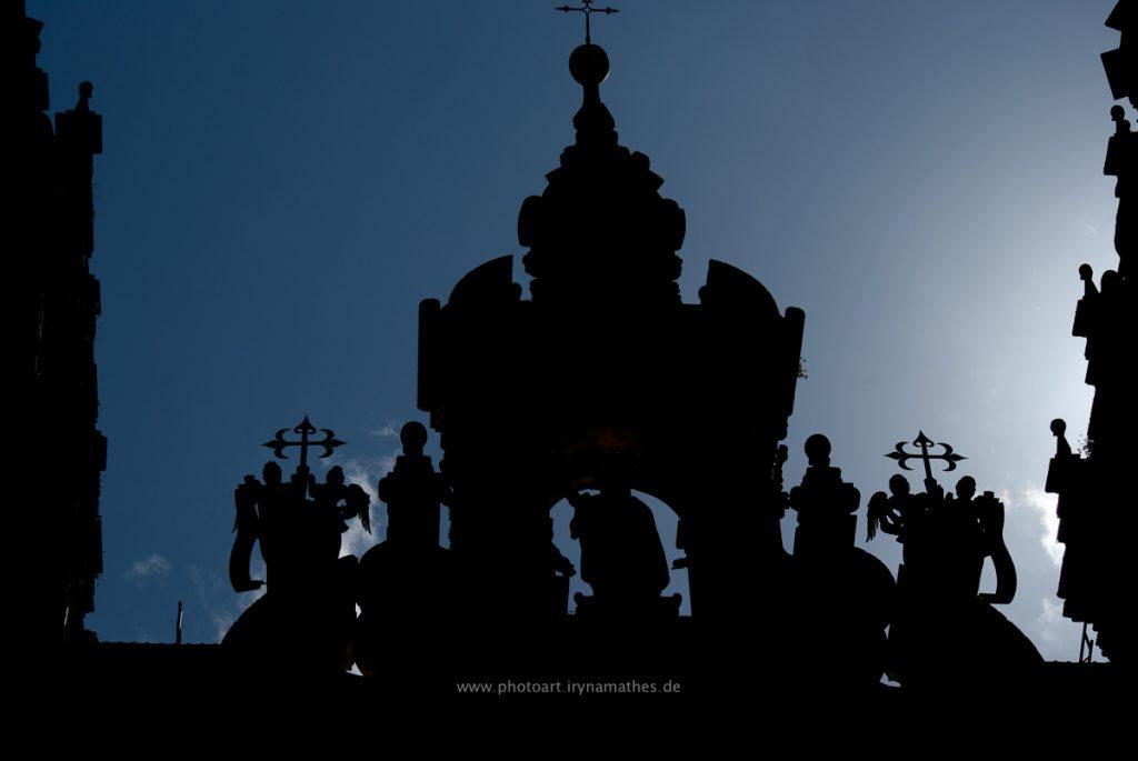 Kathedrale im Gegenlicht