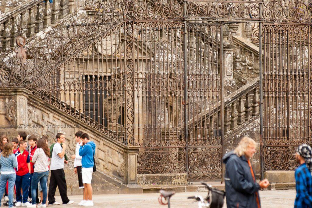 Tor vor der Kathedrale