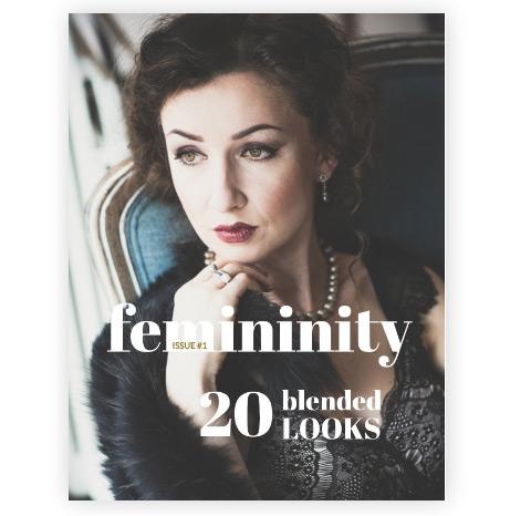 Femininity. Magazine. Frauenportraits