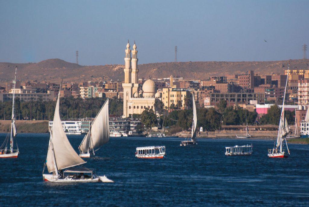 Assuan, Nil, Ägypten