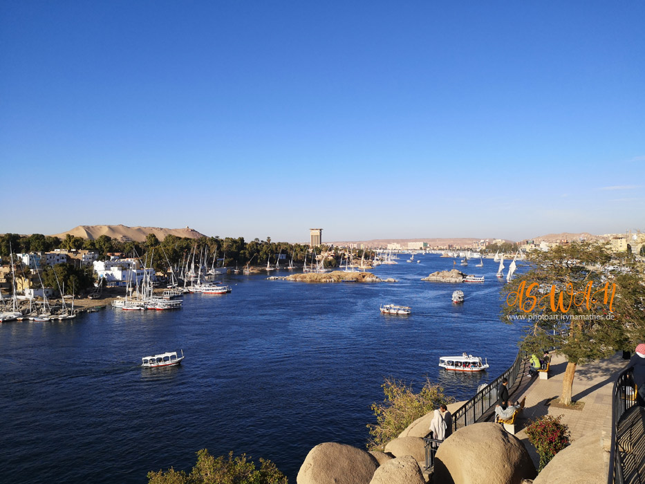 Aswan, Egypt. Travel photography