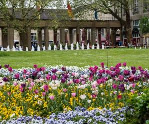 Karlsruhe Zoo im Frühling