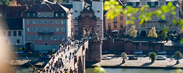 Heidelberg im Herbst. Iryna Mathes Photography