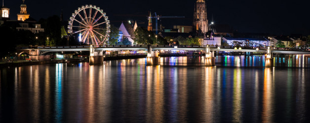 Frankfurt am Nacht. Iryna Mathes Photography