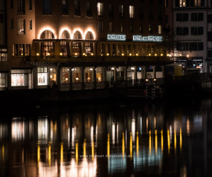 Zurich am Nacht. Iryna Mathes photography