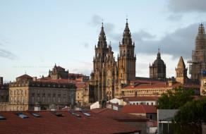 Santiago de Compostela,Spanien. Pilger Ziel Foto Iryna Mathes