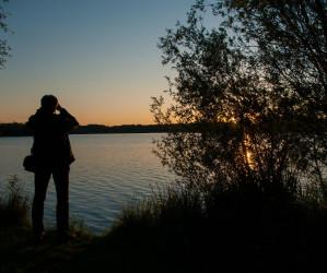 Abend am Baggersee. Naturfotografie Iryna Mathes