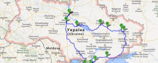 Auf Entdeckungsreise in der Ukraine